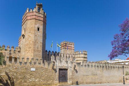 San Marcos castle in El Puerto de Santa Maria, Spain
