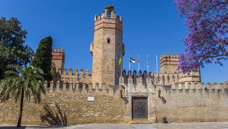 Front of the San Marcos castle in El Puerto de Santa Maria, Spain Imagens