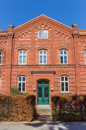 Historic courthouse building in the center of Wilhelmshaven, Germany