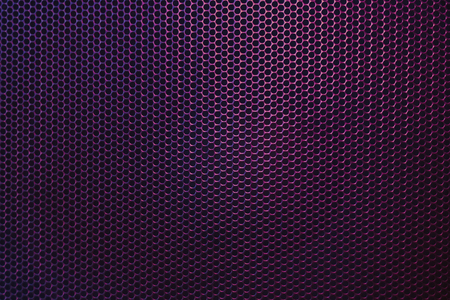the grille from the speaker texture close-up