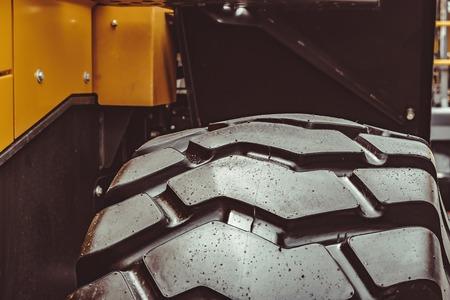 big tire texture tires from truck close-up Reklamní fotografie