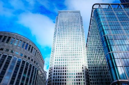 Buusiness Konzept Finanzviertel modern skyscrapers