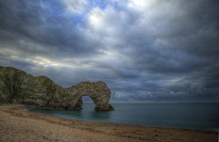 durdle: UNESCO World Heritage Site Jurassic Coast UK Stock Photo