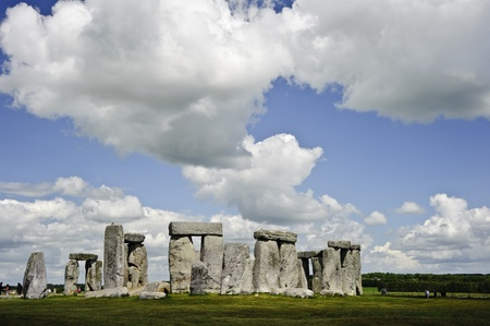 solstice: Stonehenge is aligned with the midsummer sunrise and midwinter sunset in England to celebrate the solstice.