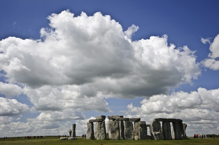 midsummer: Stonehenge is aligned with the midsummer sunrise and midwinter sunset in England to celebrate the solstice.