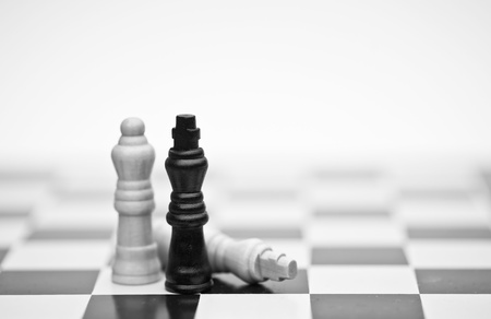 Application of chess strategy and tactics into business field concept Stock Photo - 12651474