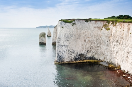 harry: Old Harry Rocks on Jurassic Coast in Dorest England