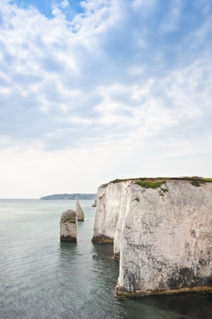 harry: Old Harry Rocks on Jurassic Coast in Dorest England, UNESCO World Heritage location