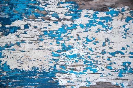 flaking: Flaking paint texture on wooden background Stock Photo