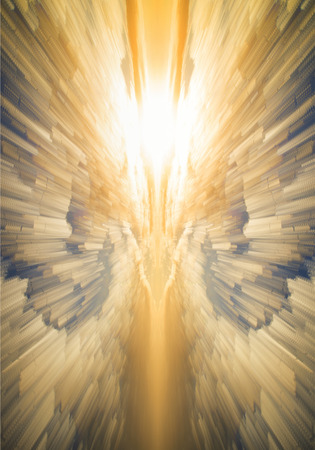 heavenly angel: Abstract unique heavenly angel background image