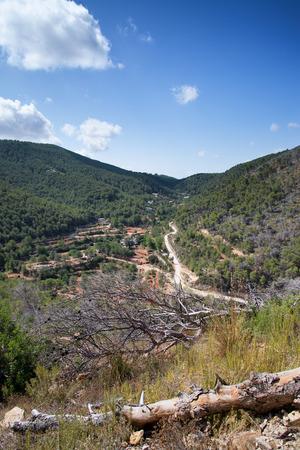 carlos: Old hippy valley of San Carlos on Ibiza in Mediterranean