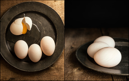 compilation: Compilation of vintage style moody creative lighting duck eggs