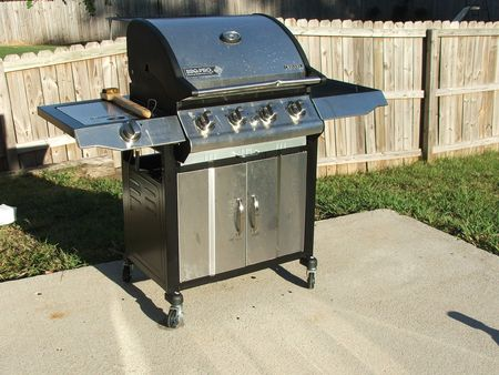 Stainless steal grill