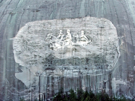 Stone Mountain Parks Monument in Atlanta Georgia