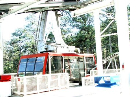 Stone Mountain Parks Skyride Station
