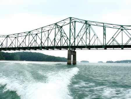 Lake Laniers bridge, Georgia