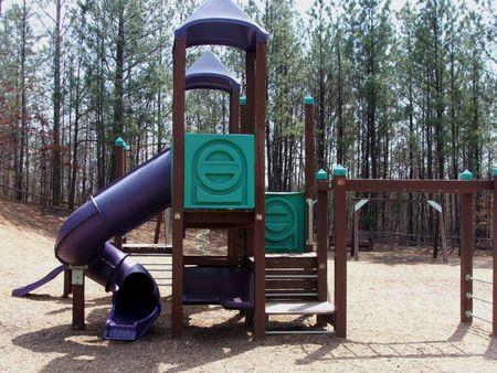 Playground area on Bunten Park, Georgia