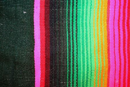 Mexican colors fabric background