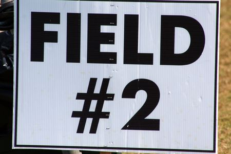 Field 2 sign photo