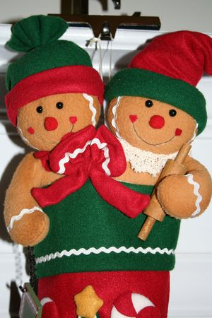 Gingerbread stocking photo