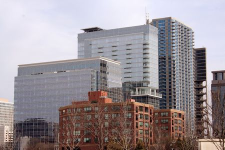 Atlantas downtown buildings