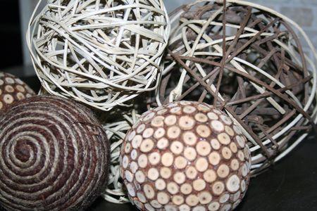Close- up of decoration balls
