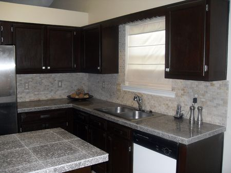 Remodeled kitchen Stock Photo