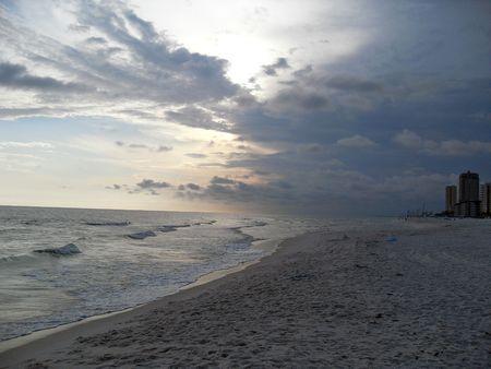 Beach at night Stock Photo - 4963888