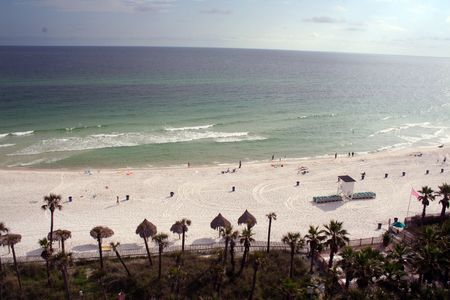 View of a Beach, Panama city Florida Stock Photo - 4963887