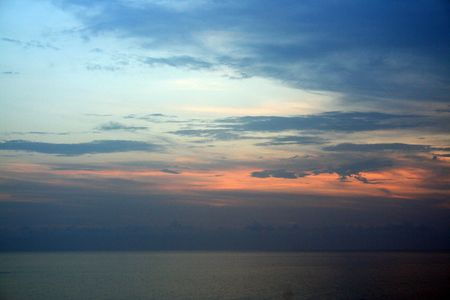 panama city beach: Spiaggia di notte
