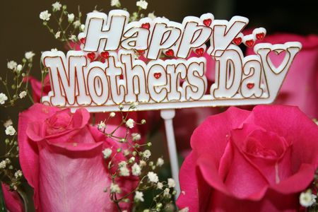 Happy mothers day sign photo