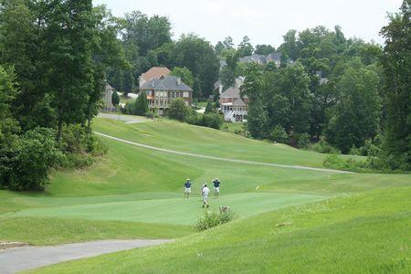 Golf field photo