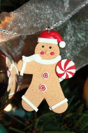 gingerbread man: Gingerbread man ornament