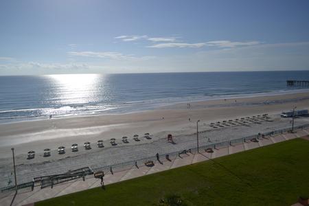 Daytona Beach , Florida sunset Stock Photo