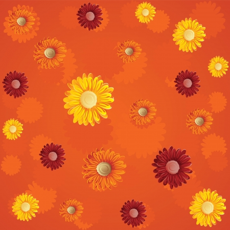 summer floral seamless pattern Stock Vector - 16595579