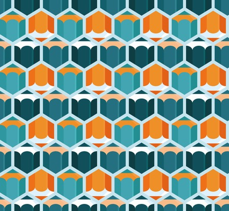 cretive: Vector abstract seamless pattern with pencil icons