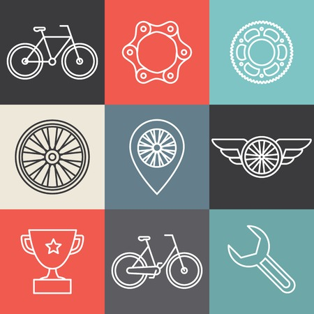 bicycle chain: hipster bicycle templates