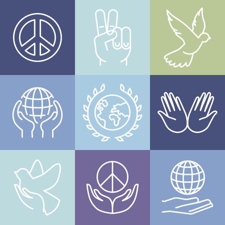 paloma: signos de la paz l�nea