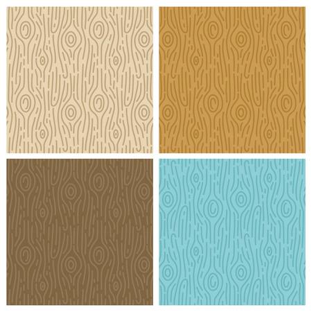 トレンディなモノラル ライン スタイル - 抽象的な背景のベクトル木製シームレスなパターン