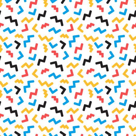 Streszczenie szwu w modnym stylu pop art liniowego - abstrakcyjne tła i tekstury