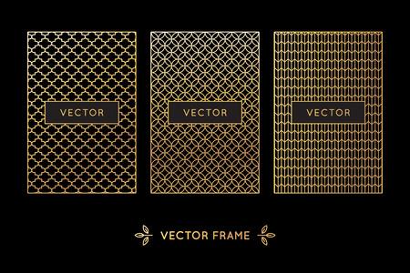 Vector set of design elements Illustration
