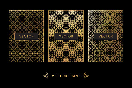 Vector set of design elements Иллюстрация
