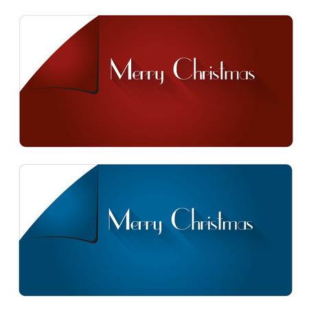usage: Red and blue trendy stickers for various Christmas usage.