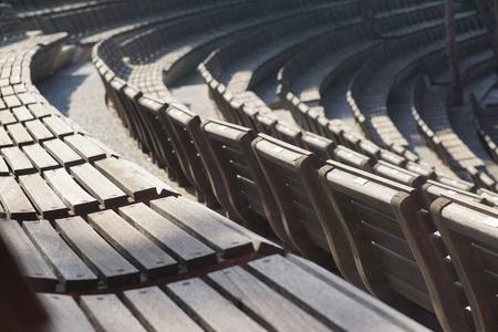 Amphitheater seats. 版權商用圖片