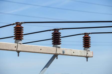 sic: Electrical insulator 3 Stock Photo