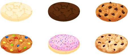 galleta de chocolate: Galletas