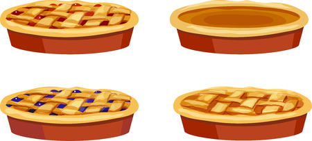 Cherry, Pumpkin, Blueberry, Apple Pies