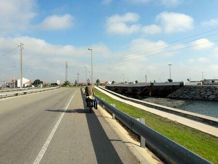 BikeTrip around Portugal Zdjęcie Seryjne