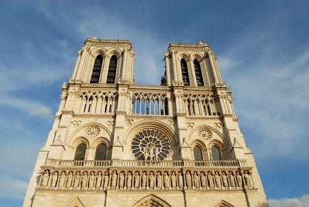 Notre Dame of Paris: West facade  photo