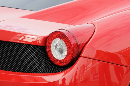 Red sports car Stock Photo - 9506735